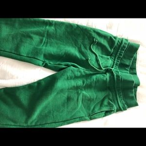 Forever 21 workout sweatpants green men size M